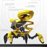 「MOSQUITO-R」という岩山を登れる探索用ロボットがカッコ良すぎるんですけど!