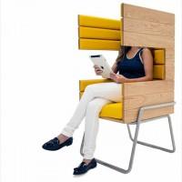 独りになりたい時にオススメの椅子「Gi Booth」