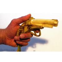 【動画あり】バナナで拳銃を作る方法