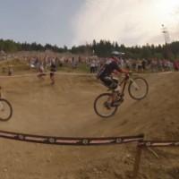 【動画】自転車レースの壁を利用した神業オーバーテイクが凄い!