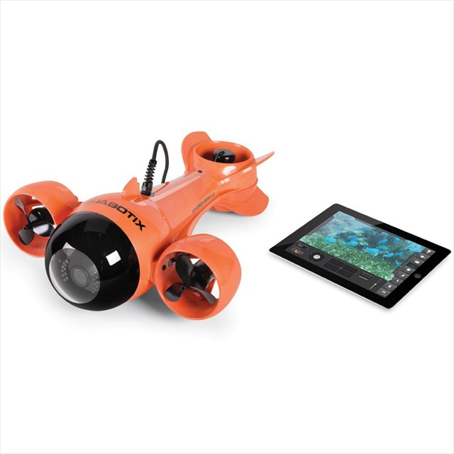 iPadで操作できるライブ配信可能な潜水艦「 The Submarine Camcorder」