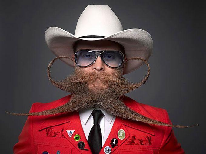 アメリカで「全米 顎ひげ&鼻ひげ選手権2013」が開催されたよ!