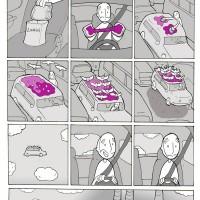 【小ネタ】パンと接着剤を使った「渋滞から脱出する方法」