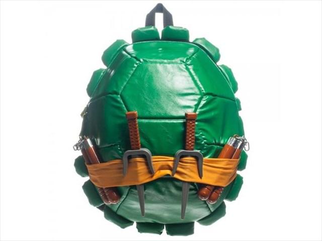 忍者タートルズになれるリュックサック「TMNT Backpack」がカッコイイ!