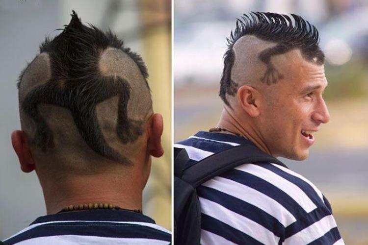 【小ネタ】凄すぎ!「頭にトカゲが張りつたような髪型」