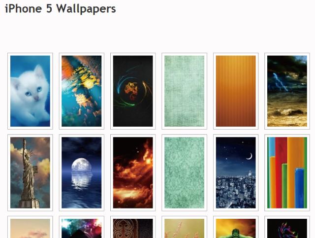 iPhoneやiPadの壁紙を無料で大量に紹介してくれているサイト「Daily iPhone Blog」