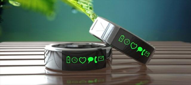 【ガジェット】指輪型のスマホ!?「Smarty Ring」という指輪が面白そう!