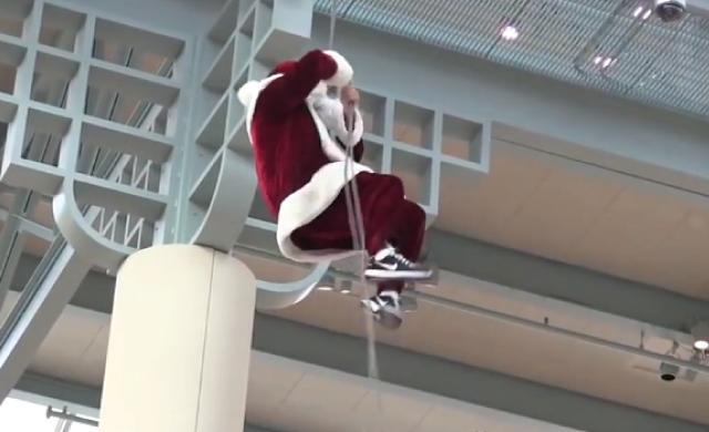【動画】サンタさんのNGシーンばかりを集めた動画「Best Santa Fails Ever Compilation」