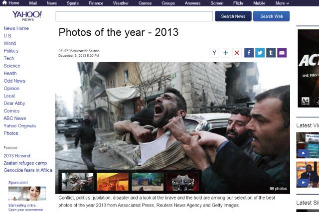 米Yahoo!ニュースが選ぶ「今年の写真-2013」全86枚