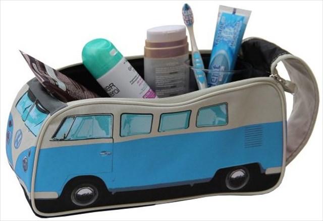 これは可愛い!ワーゲンバス型の鞄「Toiletry Bag VW」