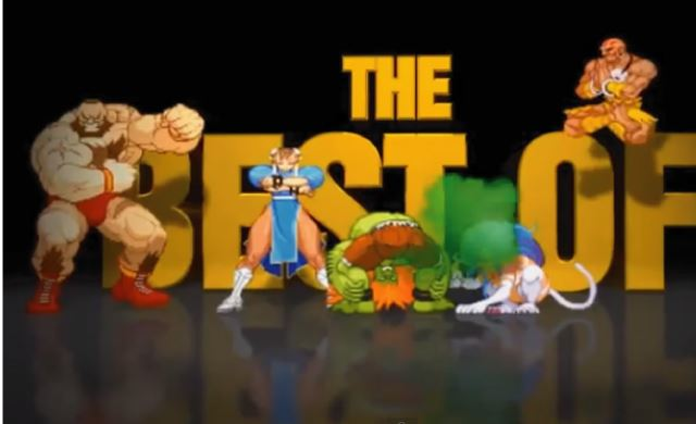 【動画】ハプニング映像にストⅡのキャラを合成した動画の2013年ベスト版