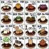 都道府県別の銘菓和菓子を可愛いキャラクターにしたイラストがTwitterで話題